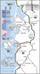 Oregon Coast Bike Map