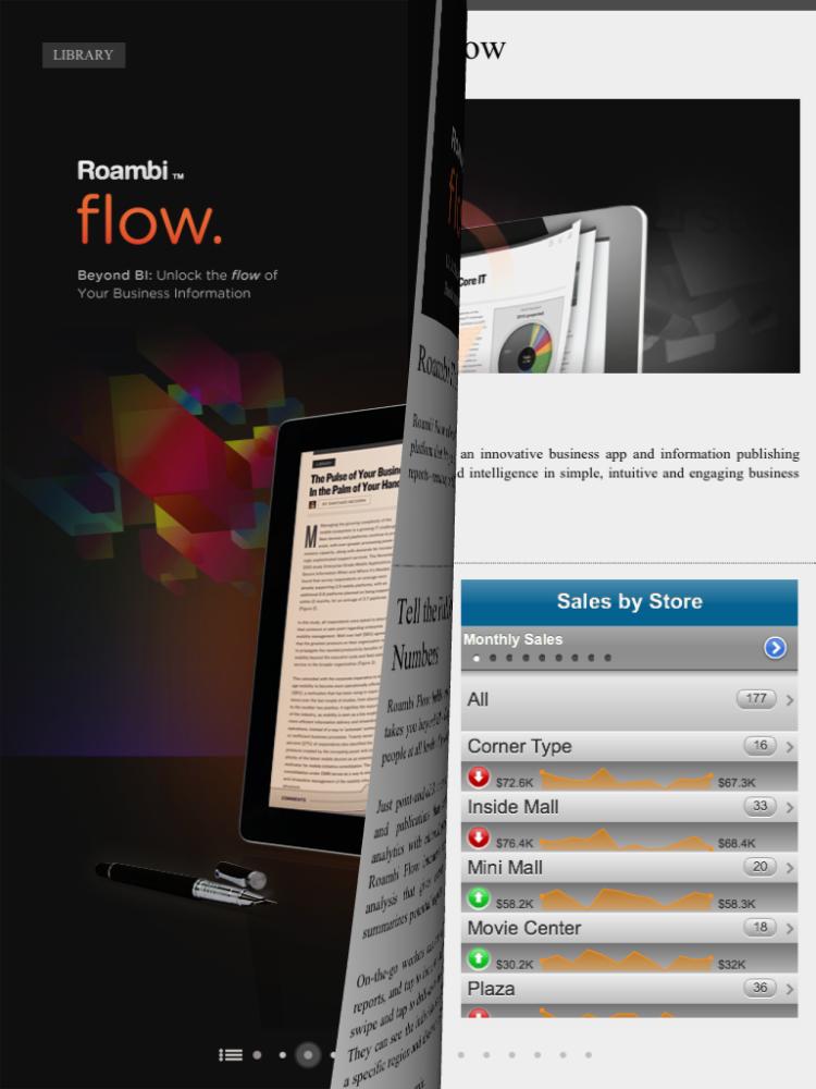 Interactive Documents - Roambi Flow (3/4)