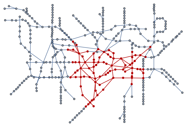 London Tube Map and Graph Visualizations (2/6)