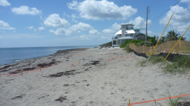 Near Bathtub Beach at site of portage across the road to get to Intracoastal