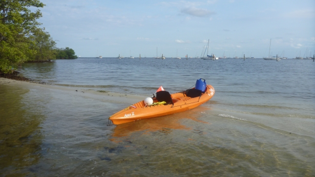 Around West Islands Park, another hour of paddling to go
