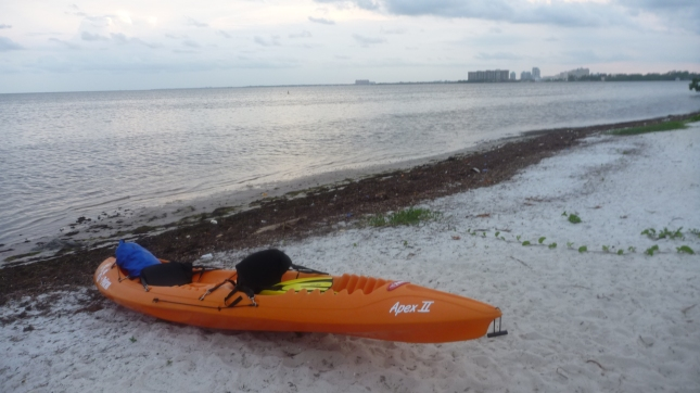 Back at Rickenbacker Causeway, some 12 hours after leaving